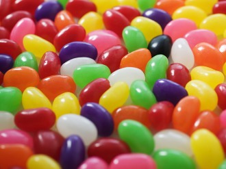 Lots of jellybeans from Celiac Disease Foundation | Practicing Persistence